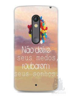 Capa Capinha Moto X Play Frase #3 - SmartCases - Acessórios para celulares e tablets :)