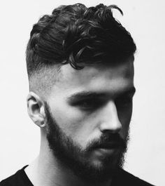 Wavy Haircuts For Men - Wavy Long On Top