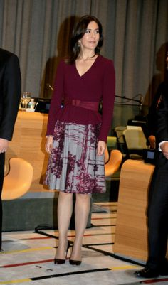 Crown Princess Mary  attends inauguration of the Trusteeship Council Chamber at the Untied Nations in New York
