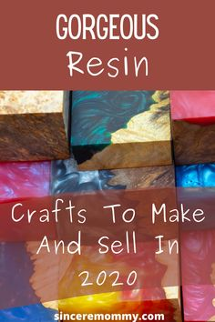 Diy Projects To Decorate Your Room, Diy Resin Projects, Diy Resin Art, Diy Resin Crafts, Crafts To Make And Sell, Upcycled Crafts, Etsy Crafts, Resin Art Supplies, Resin Jewlery