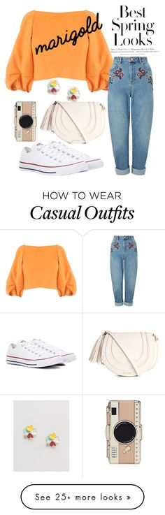 """Casual #6"" by caprifashion on Polyvore featuring H&M, TIBI, Miss Selfridge, Converse, Kate Spade and ASOS"
