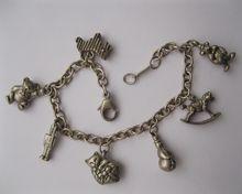 Baby Girl Tiffany Charm Bracelet