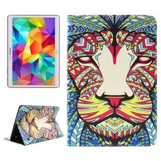 For+Tab+S+10.5+Lion+2+Sided+Leather+Case+with+Holder,+Card+Slots+&+Wallet