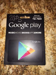 $20 Google Play Gift Card-Sent Through Email  http://searchpromocodes.club/20-google-play-gift-card-sent-through-email-4/