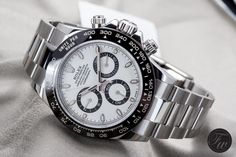 Die neue Rolex Daytona Referenz 116500LN vs. Omega Speedmaster Grey Side of the…