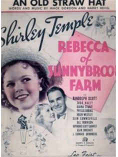 All Shirley Temple Movies | Shirley Temple movie publicity - a photo on Flickriver