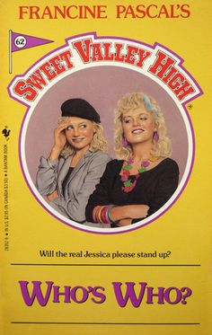 "Fictional sisters Jessica and Elizabeth from the ""Sweet Valley High"" series"