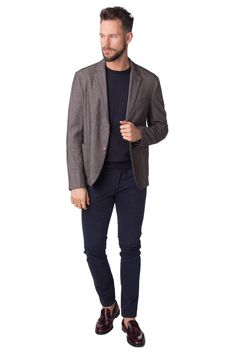f48954978fcebb HEDO Wool Blazer Jacket Size 54   XXL Elbow Patches Made in Italy RRP 298   fashion  clothing  shoes  accessories  mensclothing  coatsjackets (ebay  link)