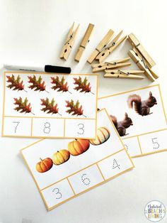 Fall Montessori Activities and Fall Lesson Plans for Preschool and Kindergarten - Natural Beach Living