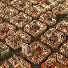 Barcelona as seen from a helicopter by Tim Orr