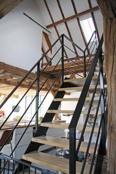 trap: landelijke Gang, hal & trappenhuis door Arend Groenewegen Architect BNA
