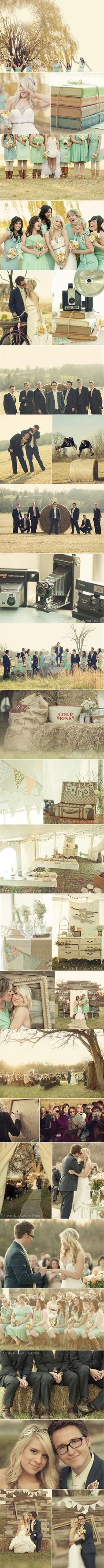 love all the rustic details