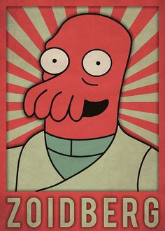 8 Best Futurama Characters Displate Posters images in 2019
