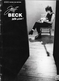 JEFF BECK WHO ELSE - GUITAR TAB - BOOK - -VG  CONDITION