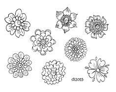 Image result for flower doodles