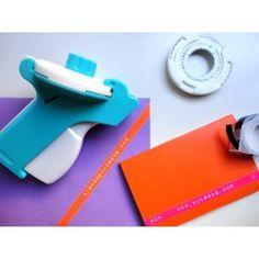 Herramienta manual para etiquetar cintas autoadhesivas con nombres, frases, mensajes, números y emoticonos