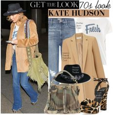 Get the Look: Kate Hudson 70s Style
