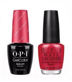 Opi Gel Polish Nail Polishes Manicures Color Holiday Nails
