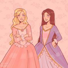 Cartoon Games, Cartoon Icons, Barbie Drawing, Barbie Fairytopia, Princess And The Pauper, Avatar Cartoon, Barbie Images, Fantasy Concept Art, Barbie Movies