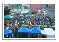 Events in Downtown Bloomington.