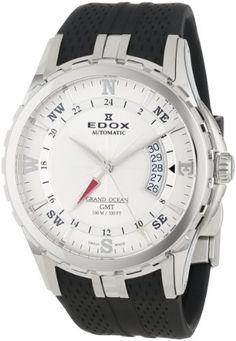 Edox Herren 93004 3 AIN Automatic GMT Grand Ocean Uhr - http://uhr.haus/edox/edox-herren-93004-3-ain-automatic-gmt-grand-ocean