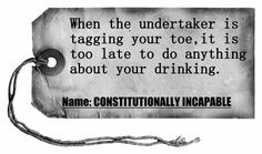 When the undertaker is tagging your toe it is too late to do anything about your drinking. Serenity Vista drug rehab, Panama