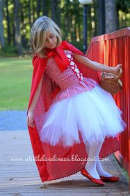 A Little Loveliness: Little Red Riding Hood Costume Tips & Tutorial