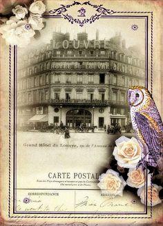 Hola mis queridas!tenía esta colección de collages digitales muy románticos y vintage...ninguno mío,todos de la red,recopilados y guardados ...