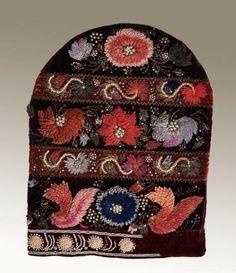 Kalfak-woman's headdress. Kazan Tatars. Kazan Province. Beginning of the XX century
