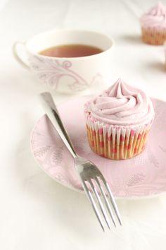 Earl Grey Cupcakes   Mrs B's Kitchen