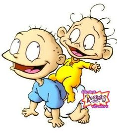 Tommy and Dil Pickles from Rugrats Tommy and Dil are owned by (C) Arlene Klasky, Gábor Csupó, Paul Germain The Pickles Brothers Rugrats Cartoon, Rugrats Characters, Classic Cartoon Characters, Nickelodeon Cartoons, Drawing Cartoon Characters, Cartoon Painting, Cartoon Tv, Classic Cartoons, Comic Book Characters