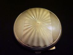 1941 sterling silver Mappin & Webb compact by Vintageandantiques12, £139.00
