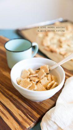 "Paleo Chex ""Cereal"" // AGirlWorthSaving.net"