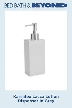 Kassatex Lacca Lotion Dispenser In Grey #BakingSodaAppleCiderVinegarShampoo #BakingSodaForDandruff Baking Soda For Dandruff, Baking Soda For Hair, Baking Soda Water, Baking Soda Vinegar, Baking Soda Shampoo, Baking Soda Uses, Cider Vinegar, Natural Dry Shampoo, Mild Shampoo