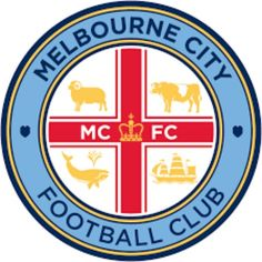 Melbourne City crest. Football Icon 41d9c112a