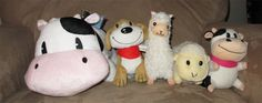 Harvest Moon plush collection