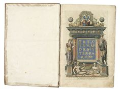 Antwerp: Plantin Press, A finely coloured copy, profusely Orbis, Antwerp, Art Auction, Painting, Color, Kunst, Painting Art, Colour, Paintings