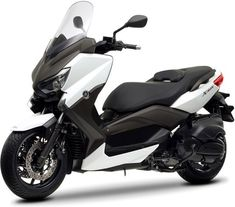Le scooter Yamaha X-Max 400 puise son style dans la version 250 et le T-Max Scooter Yamaha, Maxi Scooter, Motos Vespa, 150cc Scooter, Scooter Motorcycle, Motorcycle Outfit, Ducati, Yamaha Nmax, Triumph Motorcycles