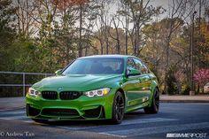 2015 F80 M3 DCT Individual Java Green