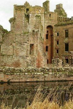 Caerlaverlock Castle, Scotland