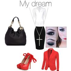 My dream to be a Red Jacket with Mary Kay ... (& to have that figure depicted here ~ lol)