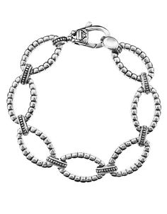 LAGOS Lagos Chain  Sterling Silver Link Bracelet
