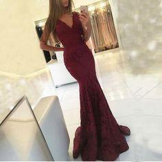 Prom Dresses Long, Prom Dresses V Neck Prom Dresses, Burgundy Prom Dresses, Mermaid Prom Dresses, Prom Dresses Lace Mermaid Prom Dresses Lace, V Neck Prom Dresses, Long Prom Gowns, Cheap Prom Dresses, Lace Mermaid, Prom Dreses, Party Dresses, Dress Prom, Ball Dresses