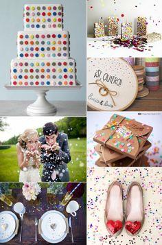 Confetti Wedding--theSpunkySapphire.wordpress.com