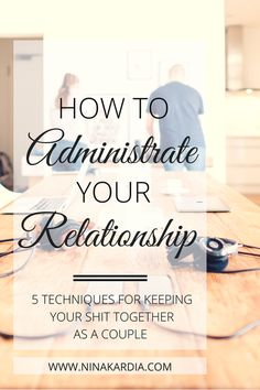 Meetings, budgets, checklists - all of these can be applied to your marriage or relationship to eliminate domestic fighting so you can concentrate on what's really important.  Read it now or pin for later! | ninakardia.com