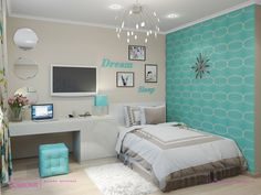 girl bedroom ideas - You'll find a huge collection of girls room designs with tips and pictures for every age from nurseries to teen girls bedrooms in all styles. #BeddingIdeasForTeenGirls #agingwithstyle