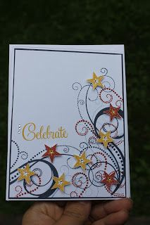 Celebrate card by Michelle Hughes