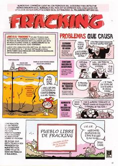 El cómic del fracking
