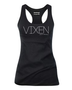 Vixen, All Sexy And A Bit Flirtatious... http://www.aesoporiginals.com/product/vixen-tank-top Available as a racer back Tank Top or T-Shirt Aesop Originals brings you the hottest designs from the Streets. We love Tattoos, Skateboarding, and any extreme sport or rockin' beat.