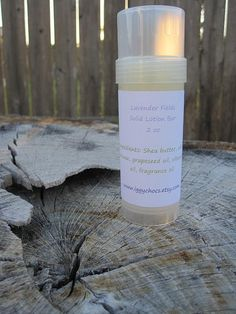 Lavender Fields Solid Lotion Bar by iggychocs on Etsy, $6.25